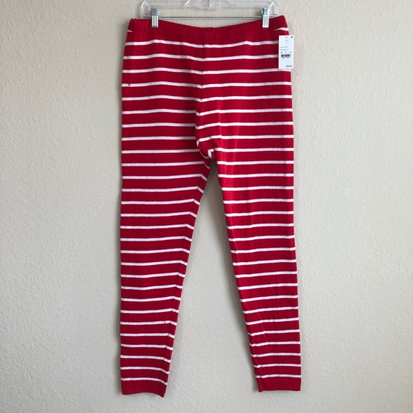 33 Degrees Women/'s Red Striped or Gray Reindeer Sweater Leggings NWT